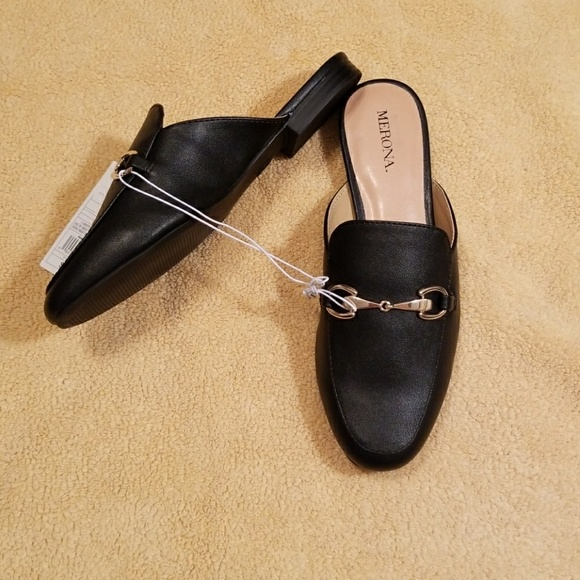 89f0711b7e2 Merona Kona Backless Mule Loafers in Size 6